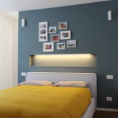 APPARTAMENTO IN EDIFICIO STORICO: Camera da letto in stile  di giorgio davide manzoni