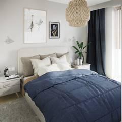 Sypialnia: styl , w kategorii Sypialnia zaprojektowany przez Mohav Design