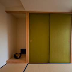 安八町の家: FrameWork設計事務所が手掛けた和室です。,北欧