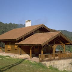 Wooden houses by Rusticasa