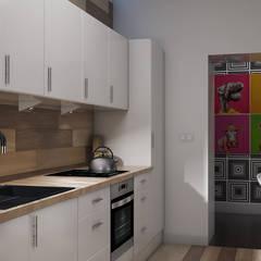 Kuchnia w kamienicy: styl , w kategorii Kuchnia zaprojektowany przez YOANdesign Joanna Glinkowska-Garwicka