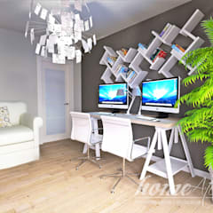 Media room by Home Atelier