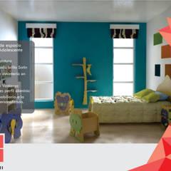 Arquitectura Interior: Habitaciones infantiles de estilo  por Spachi Arquitectura Comercial