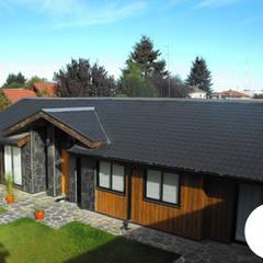 CASA WT: Casas de estilo  por REW. Arquitectura & Diseño