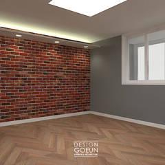 [부천인테리어] 49평 리모델링_ Design by Goeun: 디자인고은의  침실,인더스트리얼