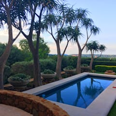 Herbert Baker Residence: modern Pool by Full Circle Design