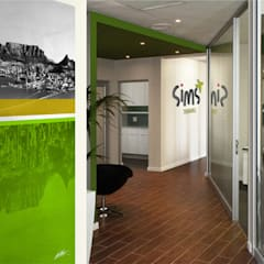 SIMS Travel:  Offices & stores by Full Circle Design