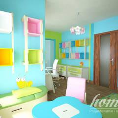 Stylowe retro: styl , w kategorii Pokój dziecięcy zaprojektowany przez Home Atelier