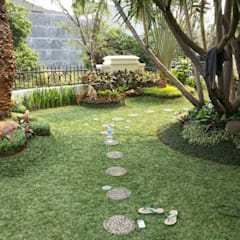 Tukang Taman di Jember: Gedung perkantoran oleh NISCALA GARDEN | Tukang Taman Surabaya, Modern