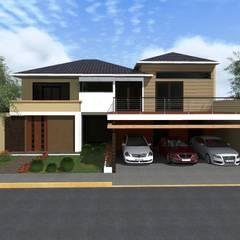 Casa OL: Casas de estilo  por HC Arquitecto