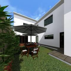 Jardines de estilo  por HC Arquitecto
