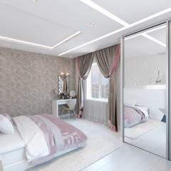 Спальня для молодой девушки: Спальни в . Автор – Мастерская дизайна Онищенко Марии