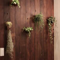 전주인테리어 디자인투플라이 프로젝트 – 킨포크 스타일 게스트하우스: 디자인투플라이의  실내 정원,컨트리
