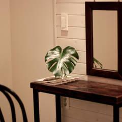 전주인테리어 디자인투플라이 프로젝트 – 킨포크 스타일 게스트하우스: 디자인투플라이의  침실,컨트리