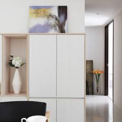 Bureau moderne par 築一國際室內裝修有限公司 Moderne