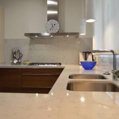 : mediterranean Kitchen by Upper Design by Fernandez Architecture Firm