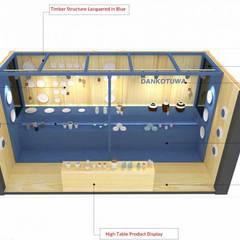 Dankotuwa, diseño de stand: Ferias de estilo  de Studioapart