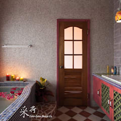 Spa de estilo rural por 采荷設計(Color-Lotus Design)