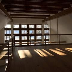 Bauernhaus: landhausstil Arbeitszimmer von Fahr + Ramiro Architekten BDA