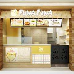 Fuwa Fuwa Sun Plaza, Medan: Kantor & toko oleh Juxta Interior, Minimalis