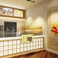 Fuwa Fuwa Elang Laut, Jakarta: Kantor & toko oleh Juxta Interior, Minimalis