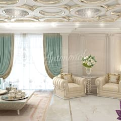 ​  Interior design majlis of Katrina Antonovich :  Living room by Luxury Antonovich Design