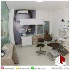 ODONTO NIEHUES: Clínicas  por Arquiteto Fernando Dela Justina