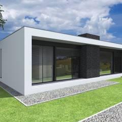 Projeto Quartzo: Casas  por Magnific Home Lda