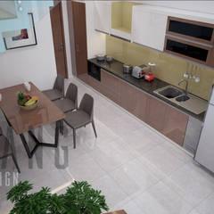 NHÀ LÔ PHỐ:  Nhà bếp by DCOR
