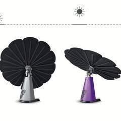 """Smartflower - O primeiro sistema de energia solar """"all in one"""" do Mundo: Jardins  por Magnific Home Lda,Moderno"""