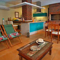 مطبخ تنفيذ Recyklare Projetos de Arquitetura , Restauro & Conservação