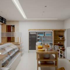 Projeto de Reforma de Padaria: Edifícios comerciais  por SCK Arquitetos