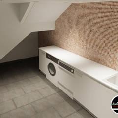 Nhà để xe/Nhà kho by André Terleira - Arquitectura e Construção