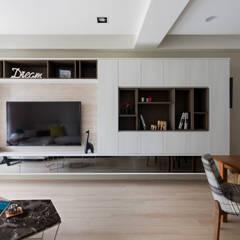 Living room by 耀昀創意設計有限公司/Alfonso Ideas, Scandinavian