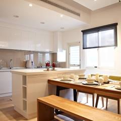 مطبخ تنفيذ 耀昀創意設計有限公司/Alfonso Ideas