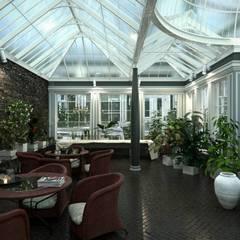 Rendering Fotorealistici: Hotel in stile  di Kosmos3D