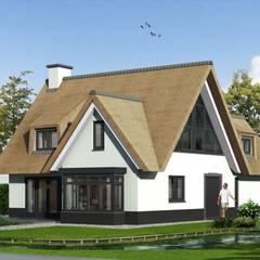 Casas de estilo  por Brand BBA I BBA Architecten