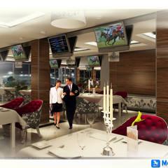 MOGAN GROUP Mimarlık Dekorasyon İnşaat LTD. ŞTİ. – Erbil Hipodrom Projesi:  tarz Yemek Odası