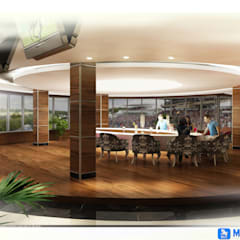 MOGAN GROUP Mimarlık Dekorasyon İnşaat LTD. ŞTİ. – Erbil Hipodrom Projesi: klasik tarz tarz Yemek Odası