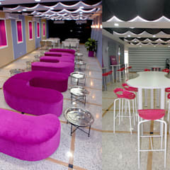 decoration d'intérieur inwi: Centres commerciaux de style  par Studiumcasa