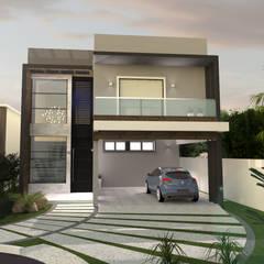 Casa KG: Casas  por E+D Arquitetura