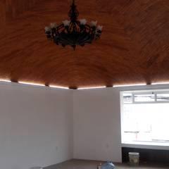 Bóveda de 6x9: Terrazas de estilo  por Arquisan Proyectos y Construcciones