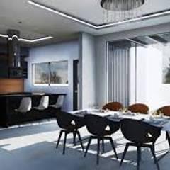 TU MEJOR OPCION: Casas de estilo  por sanmiguel.asociados, Ecléctico Azulejos