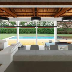 Casa Ginebra JPO: Piscinas de estilo  por COLECTIVO CREATIVO