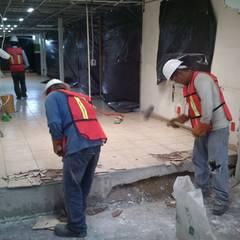 TALMA MÉXICO: Paredes de estilo  por Protocolo Ingeniería & Arquitectura