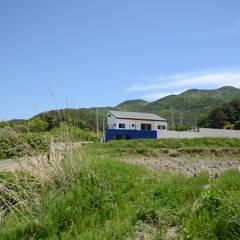 구미리 전원주택: 건축사사무소 카안 |Architect firm KAAN의  베란다