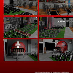 Ruang Fitness by Inco Media - Kommunikationsdesign, Interiordesign