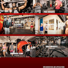 Gym by Inco Media - Kommunikationsdesign, Interiordesign