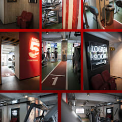 rustic Gym by Inco Media - Kommunikationsdesign, Interiordesign