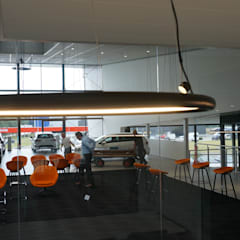 Car Dealerships by AID Interieur Architecten, Eclectic